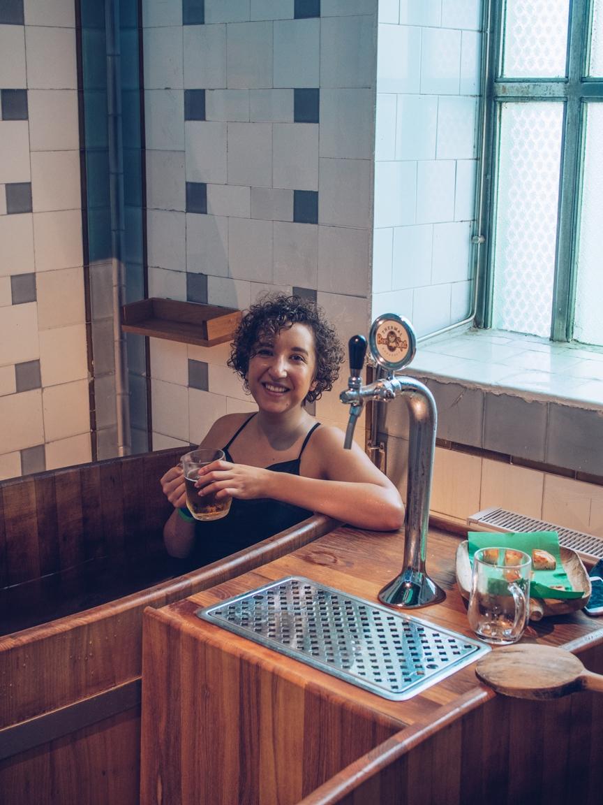 An Alternative Thermal Bath Experience