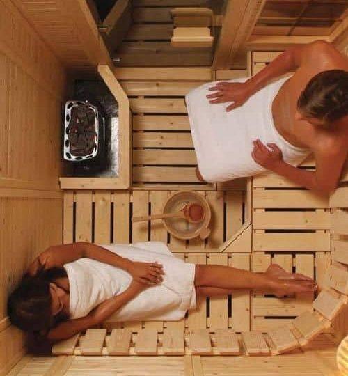 Relaxing in a sauna, top 5 health benefits
